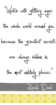 You will find those places if you follow your heart!