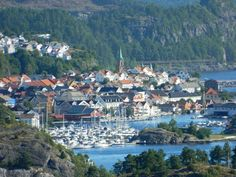 A view of Kragerø from our window at Quality Spa & Resort {Visit Norway USA}