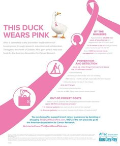 #ad My Breast Cancer Scare and Aflac's Help in Funding Research #ThisDuckWearsPink