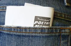 Five Fun Ways to Write a Poem for Poem in Your Pocket Day!