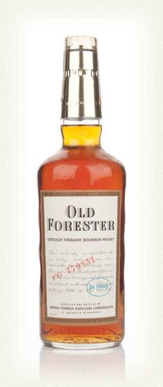 Old Forester Bourbon - 1974