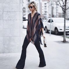 Look casual calça flare