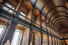 トリニティ・カレッジ図書館/ダブリン大学(アイルランド) | 世界の図書館.com