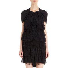 Nina Ricci Tiered Lace Dress