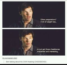 Hahaha. Benedict Cumberbatch is just too much to handle!