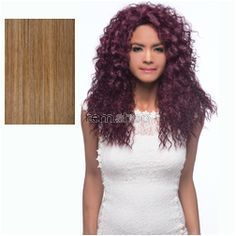 Vivica Fox Weave Cap Collection Caiden  - Color P2216 - Synthetic (Curling Iron Safe) Half Wig