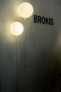 Memory wall light by Czech brand Brokis  - A walk through Maison&Objet January 2014    Flodeau