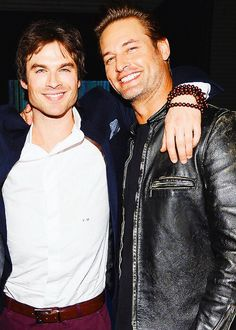 Ian and Josh at the Lost Reunion!!!