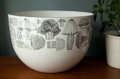 kaj franck mushroom bowl