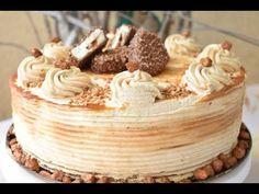 Fun Baking Recipes, Cake Recipes, Cooking Recipes, King Torta, Maxi King, Torte Recepti, Torte Cake, Just Bake, No Bake Cake