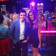 Sadie and Mark at GMA DWTS season 19, Sept 2014