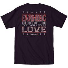 Case IH Farming Strong Men's Tee