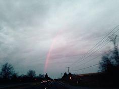 Good Friay Early Morning Rainbow