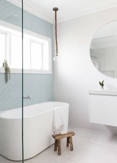 Simple Bathroom Shower Makeover Decor Ideas to Upgrade Your Bathroom Bathroom Renos, Laundry In Bathroom, Simple Bathroom, Bathroom Renovations, Modern Bathroom, Master Bathroom, Bathroom Ideas, Bathroom Tubs, Bathroom Inspo