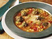 Sicilian Meatball Soup - FamilyTime.com -
