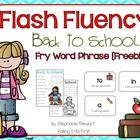 It's time for Back To School Fluency!! I create these Fluency Phrase cards and pages to help my student practice sights words and fluency together ...