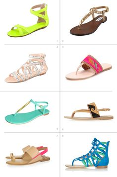 Summer Shoes | summer sandals 2012
