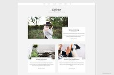Sylène - Sleek WordPress Theme. WordPress Blog Themes. $49.00