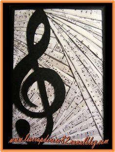 Bonjour, En ce dimanche, on continu avec les cartes iris filding sur le thème de la musique cette fois : - une clé de sol pour commencer :...