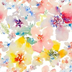 Petal Expressions fabric by susan_magdangal on Spoonflower - custom fabric