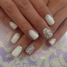 nail art unghia corte - Cerca con Google
