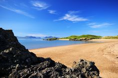 Llanddwyn Island, once home to Wales' Patron Saint of Lovers seen from Newborough Beach on Anglesey. Check out our fabulous holiday cottages on Anglesey http://www.qualitycottages.co.uk/anglesey/holiday-cottages-anglesey.php