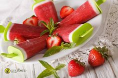 Γρανίτα φράουλα ξυλάκι - gourmed.gr