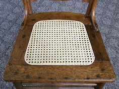 How to re-cane a chair, easy instructions