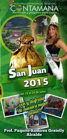 Contamana cierra San Juan 2015 con el 'Juane más grande' y fiesta popular