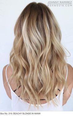 Miami beach blonde