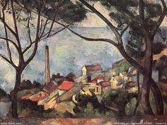 paul cezanne most famous works | Paul Cézanne » cezanne4