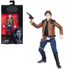 Star Wars The Black Series Han Solo (Solo) 6-Inch Action Figure - Pre-Order
