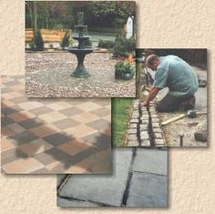 Good site with loads of advice and instruction for laying a patio