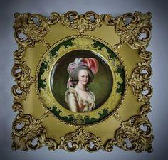 19TH CENTURY DRESDEN PLATE : Lot 9