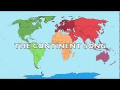 The Continent Song - YouTube Just continents, no oceans, and habitat info on continents