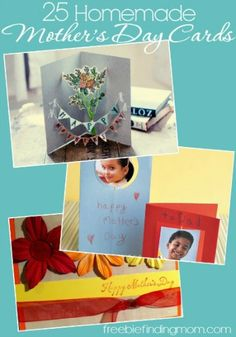 25 Homemade Mother's Day Cards - Footprint butterflies, tissue paper flower bouquets and more. Grandparents Day Crafts, Fathers Day Crafts, Mother Day Wishes, Mother Day Gifts, Brick Laying, Mothers Day Cards, Happy Mothers Day, Scrapbooking 101, Memorial Day