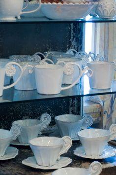ceramics by Astier de Villatte via Trouvais.com