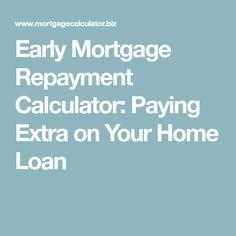 Mortgage Payoff Calculator Mortgage Professor Mortgage Tips