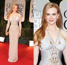 Amazing dress and figure....
