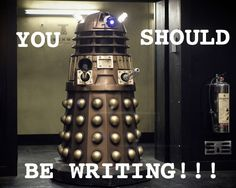 """National You Should Be Writing Right Now Month — elainevdw: """"Motivation"""" from our NaNoWriMo..."""