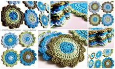 Crochet Coasters SEASIDE | Craftsy