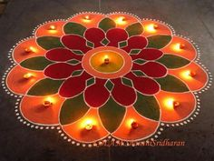 Colours Rangoli.........