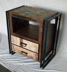 Vintage Nightstands. Ünik Vintage Furniture www.tiendaonlinedecoracion.com