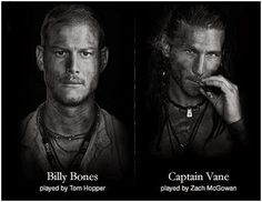 Black Sails is a pirate show, and if you like pirates then you should watch it. Black Sails Tv Series, Black Sails Billy Bones, Zack Mcgowan, Jay Baruchel, Charles Vane, Tom Hopper, Fantasy Shows, Pirate Life, Gabel