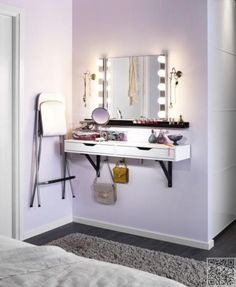 small bedroom furniture and dressing area design ideas