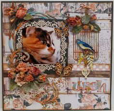 ShelbyDoodle Designs: Lila's Wish - A Layout featuring Scraps of Darkness' Weathered and Worn kit.