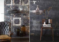 Brooklyn Tins wallpaper by MERCI via marinagiller.com