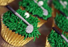 Golf cupcakes #Father's Day