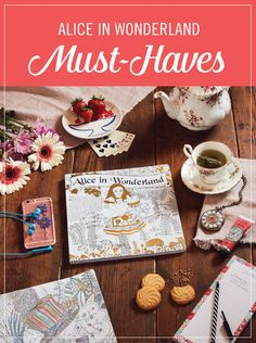 These Alice in Wonderland inspired must-haves are perfect for your morning off. You won't be late for an important date, so relax with a coloring book, catch up on the latest hits, or even peacefully drink some tea. Fill your precious moments alone with these editor's picks that are just what you need for a whimsical weekend to yourself.
