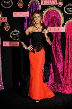Nati Abascal - Telva Fashion Awards 2008
